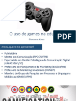 o Uso de Games Na Educacao (PDF)