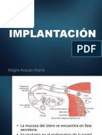 Implantación y Embriogénesis