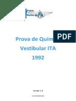 126_Quimica_ITA_1992