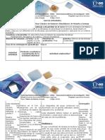 Guía de Actividades y Rúbrica de Evaluación Fase 6 - Resolución de Problemas de Balance de Materia y Energía Combinados