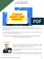 8 tipos de clientes y cómo antenderlos