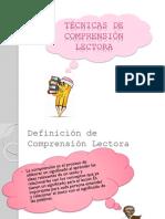 Técnicas de Comprensión Lectora.pptx