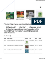 Pricelist Produk Alamicoid