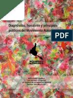 Diagnóstico, horizonte y principios políticos del Movimiento Autonomista