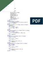 Programación y métodos numéricos. visual studio