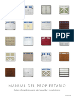 Manuals Amarr Residential Sp