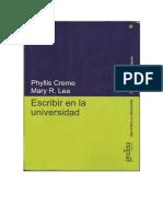 Creme, P., Lea, M.R. (2000). Escribir en la Universidad.pdf