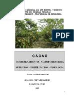 Texto Nº 3 Sombreamiento - Fertilización Cacao Mayo. 2013