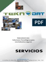 TEKNODAT Catalogo de Servicios Instalación de Tuberías Sin Zanja