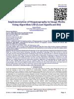 Implementation of Steganography in Image Media Using Algorithm LSB (Least Significant Bit)