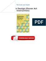 Pattern Design Dover Art Instruction PDF