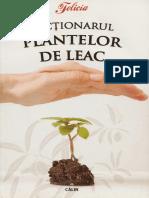 Dictionarul Plantelor de Leac-carte