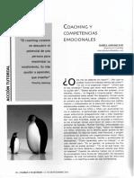Coaching y Competencias Emocionales [Artículo]