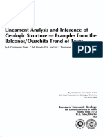 Lineament Analysis and Inference of Geological Structure