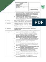 9.1.2.4 Sop Penyusunan Indikator Klinis