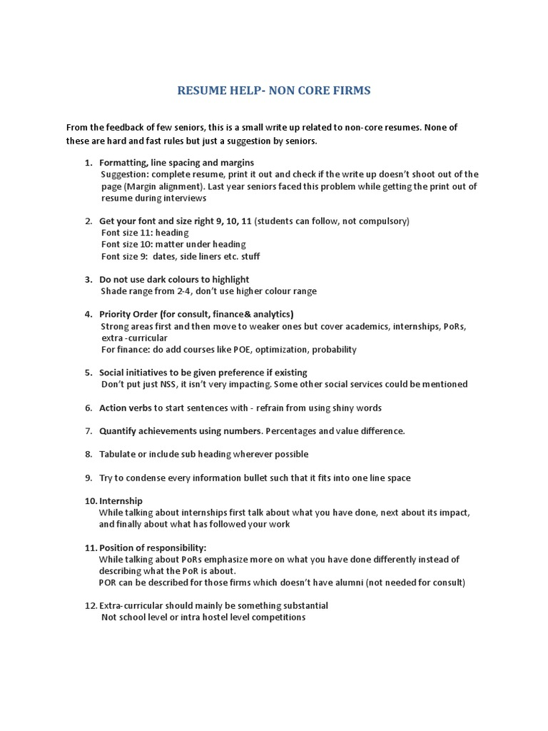 resume tips cognition psychology cognitive science - Resume Font Size 10 Or 11