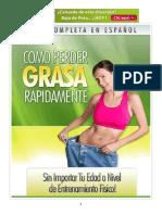 Cómo Perder Grasa Rápidamente PDF