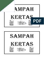 TULISAN TMPT SAMPAH