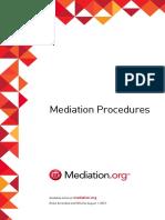 Mediation Rules
