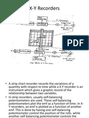 X Y Recorder Block Diagram | Machine Repair Manual