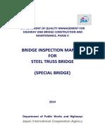 Bridge Inspection Manual for Streel Truss Bridge Complete (Special Bridge)
