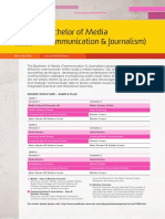 12684 UnderGraduate Flyers Bachelor of Media JOURNALISM FA2