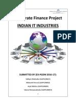 Corporate Finance Report Analysis