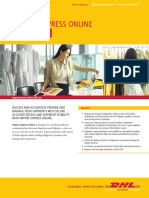 Dhl Import Express Online User Guide En