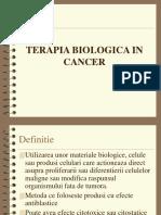 10. Terapia Biologica in Cancer