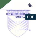 Historia Das Sociedades I