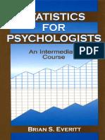 Everitt - Statistics for psychologists 2001.pdf