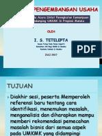 Materi Pelatihan Teknis Konsultan Pendamping