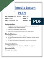 Multi-media Lesson Plan- Flame
