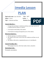 Multi-media Lesson Plan- Flame