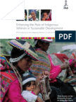 Enhancing the Roles of Indigenous Women in Sustainable Development