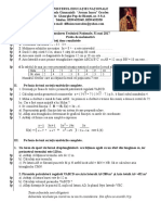 Mate.info.Ro.4086 M O D E L Evaluarea Nationala 2017 - MATEMATICA