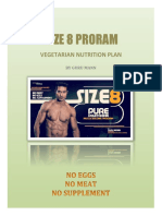 Size 8 Veg Nutrition Plan by Guru Mann