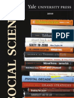 Yale University Press Social Science 2010 Catalog