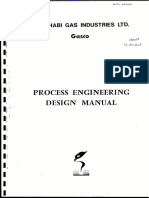 Process Engineering Design Manual