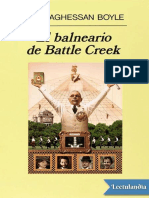 El Balneario de Battle Creek - T C Boyle