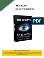 Módulo 1 Hipnose Conversacional 101 Scripts de Hipnose Conversacional 2