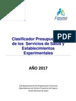 Clasificador SNSS 2017
