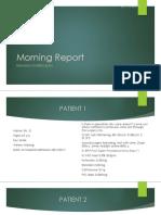 Morning Report Rchl