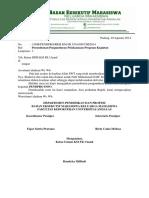 158 Surat Pengunduran Proker Pendpro Info