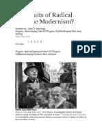 The Fruits of Radical Catholic Modernism