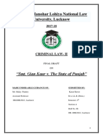 Criminal Law- II Final Draft