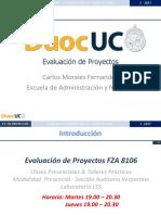 Clase 1 Ev. de Proyectos Auditoría