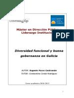 Diversidad Funcional y buena Gobernanza en Galicia 2017