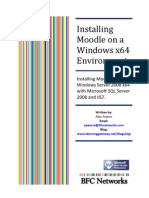 Installing Moodle on Windows Server 2008 R2 x64