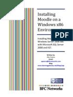 Installing Moodle on Windows x86